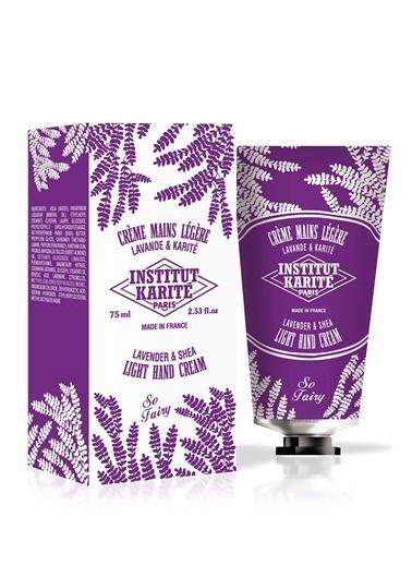 Institut Karite Karite Lavender and Shea Light Hand Cream 30 ml Renkli
